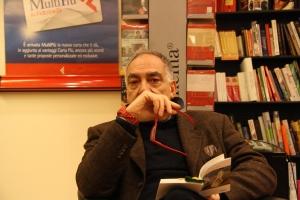 Rinaldo Clementi che ha letto brani dai due libri