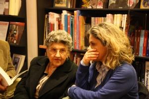 La mamma di Claudio Gerbino con la figlia Giovanna