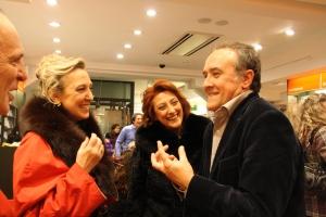 Maurizio Muraglia con Lidia Follone e Ghita Spoto