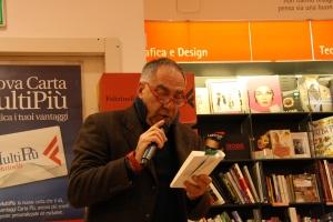 Rinaldo Clementi legge brani dal romanzo di Scrima